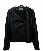 M-premier(エムプルミエ)の古着「ライダースジャケット」|ブラック