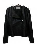 M-PREMIER(エムプルミエ)の古着「ライダースジャケット」 ブラック