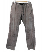 GRAMICCI(グラミチ)の古着「クライミングパンツ」|グレー