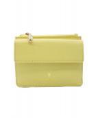 Samantha Thavasa PETIT CHOICE(サマンサタバサプチチョイス)の古着「財布」|イエロー