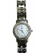 HERMES(エルメス)の古着「腕時計」|ピンクシェル