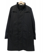 BURBERRY LONDON(バーバリーロンドン)の古着「ライナー付きナイロンコート」 ブラック