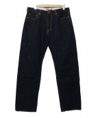 CUNE(キューン)の古着「5連ウサギデニムパンツ」|インディゴ