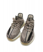 adidas(アディダス)の古着「YEEZY BOOST 350V2 ZYON」|グレー×ベージュ