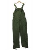 Engineered Garments(エンジニアードガーメン)の古着「リップストップオーバーオール」|グリーン