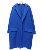 Shinzone(シンゾーン)の古着「カシミヤ混チェスターコート」 ブルー