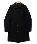 FRANK LEDER(フランクリーダ)の古着「DEUTSCHELEDER COAT」 ブラック