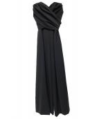 LAGUNA MOON(ラグナムーン)の古着「クロスベアパンツドレス」|ブラック
