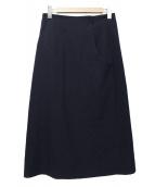 YOHJI YAMAMOTO(ヤマモトヨウジ)の古着「タイトスカート」|ネイビー