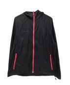 MAMMUT(マムート)の古着「フーデッドナイロンジャケット」|ブラック