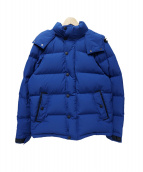 WOOLRICH(ウールリッチ)の古着「WINDSTOPPER PUFFY DOWN PARKA」|ブルー
