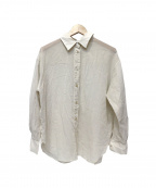Noble(ノーブル)の古着「シーシルーレギュラーシャツ」|ベージュ