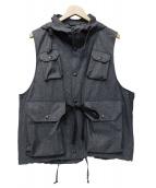Engineered Garments(エンジニアドガーメンツ)の古着「Field Vest」|グレー