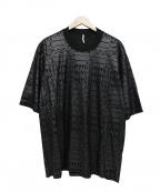 ms braque(エムズ ブラック)の古着「デザインカットソー」 ブラック