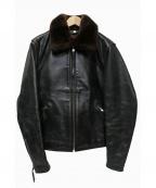 FREEDOM(フリーダム)の古着「レザージャケット」|ブラック