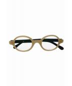 buddy optical(バディーオプティカル)の古着「伊達眼鏡」|カーキ