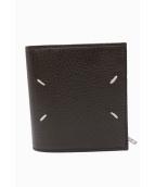 Maison Margiela(メゾンマルジェラ)の古着「2つ折り財布」|ダークブラウン