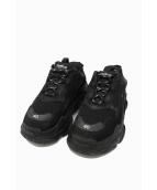 BALENCIAGA(バレンシアガ)の古着「Triple S Shoes」|ブラック