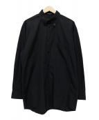 BALENCIAGA(バレンシアガ)の古着「ロング丈BDシャツ」|ブラック