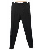 BALENCIAGA(バレンシアガ)の古着「センタープレスパンツ」 ブラック