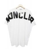 MONCLER(モンクレール)の古着「MONCLER MAGLIA T-SHIRT/001」|ホワイト