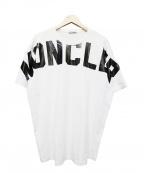 MONCLER()の古着「MONCLER MAGLIA T-SHIRT/001」|ホワイト
