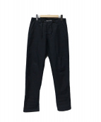 Maison Martin Margiela(メゾンマルタンマルジェラ)の古着「Slim Drawstring trouser」 ネイビー