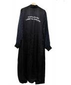 GOOD DESIGN SHOP COMME des GARCONS(グッドデザインショップ コムデギャルソン)の古着「スタッフコート」|ブラック