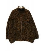 GOLD(ゴールド)の古着「ボアフリースジャケット」|ブラウン