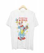 MARTINE ROSE(マーティン ローズ)の古着「ピエロアートワークTシャツ」|ネイビー