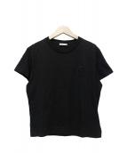 MONCLER(モンクレール)の古着「刺繍ロゴTシャツ」|ブラック