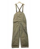 KAPTAIN SUNSHINE(キャプテン サンシャイン)の古着「オーバーオール」|オリーブ