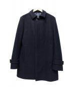 Calvin Klein(カルバンクライン)の古着「ロングコート」 ネイビー