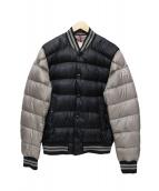MONCLER(モンクレール)の古着「ダウンジャケット」|グレー×ブラック