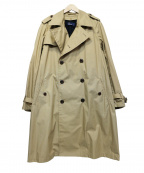 FRED PERRY()の古着「Trench Coat JAPAN LIMITED」|ベージュ
