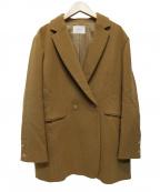 IENA()の古着「ウールイージージャケット」|ブラウン