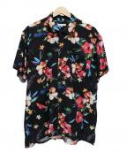 Engineered Garments(エンジニアドガーメンツ)の古着「CAMPシャツ」|ブラック