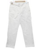 KAPTAIN SUNSHINE(キャプテン サンシャイン)の古着「ワークパンツ」|ホワイト