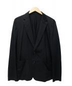 ATTACHMENT(アタッチメント)の古着「コンパクト天竺2Bジャケット」|ブラック