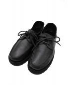 PARABOOT(パラブーツ)の古着「DOMINGUE REID SOLE」 ブラック