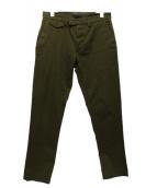 DIESEL BLACK GOLD(ディーゼルブラックゴールド)の古着「テーパードパンツ」|オリーブ