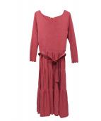 TOCCA(トッカ)の古着「ニットワンピース」|ピンク