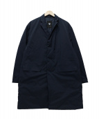 DESCENTE PAUSE(デサントポーズ)の古着「DOWN CHESTER COAT」|ネイビー