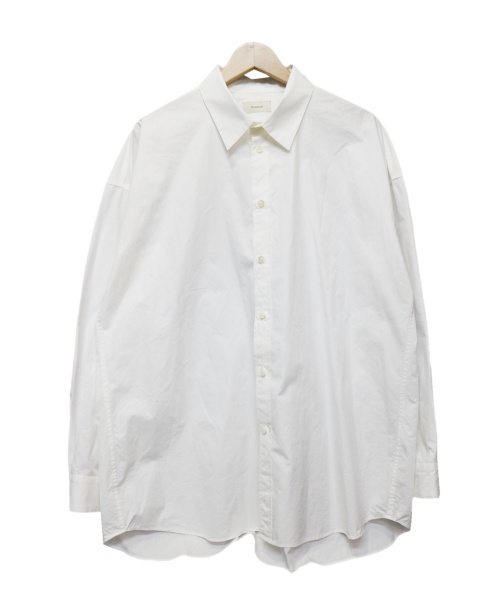 toironier(トワロニエ)toironier (トワロニエ) オーバーサイズシャツ ホワイト サイズ:FREEの古着・服飾アイテム