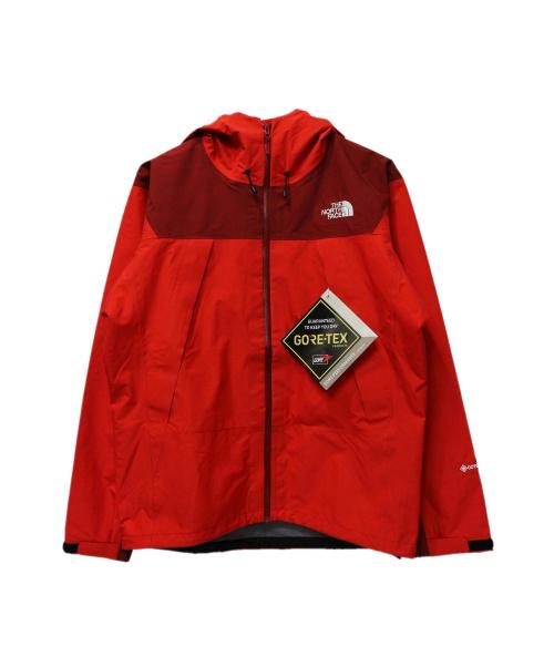 THE NORTH FACE(ザノースフェイス)THE NORTH FACE (ザノースフェイス) Climb Light Jacket レッド サイズ:S 未使用品の古着・服飾アイテム