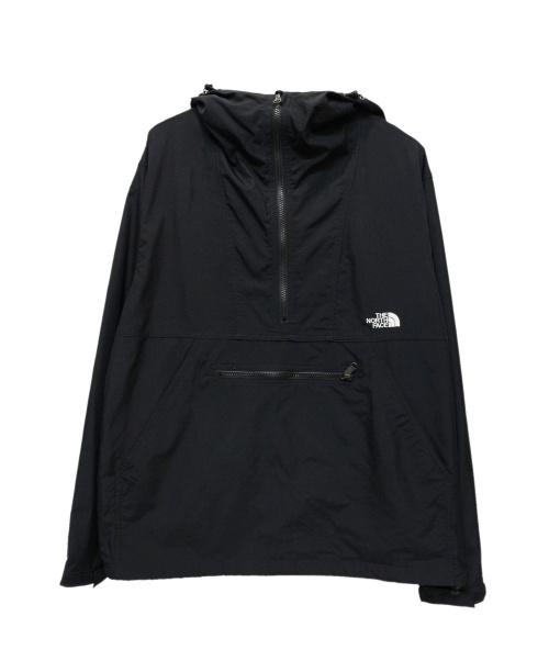THE NORTH FACE(ザノースフェイス)THE NORTH FACE (ザノースフェイス) Compact Anorak ブラック サイズ:Lの古着・服飾アイテム