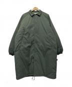 SSZ(エスエスゼット)の古着「Long Coach Jacket」|グリーン