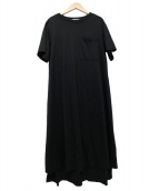 ADORE(アドーア)の古着「デラヴェコットンロングカットソー」|ブラック