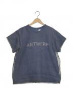 AKIRA NAKA(アキラナカ)の古着「ANTWERP TOP」|ネイビー