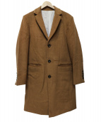 SHIPS COLORS(シップス カラーズ)の古着「チェスターコート」|ブラウン